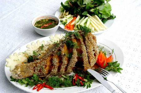 Đổi món với Cá tai tượng chiên xù, Ẩm thực,