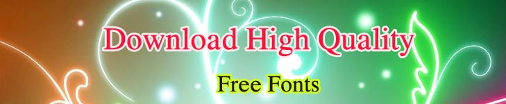 Download High Quality Free Fonts. [ShareFonts]