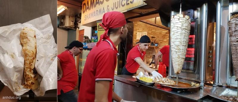 Shawarma - RM6 - Rải rác khắp nơi, như kiểu Doner Keybap