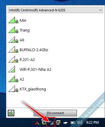 Cách kết nối mạng wifi trên Mini Windows Anhdv Boot (WinPE) 1