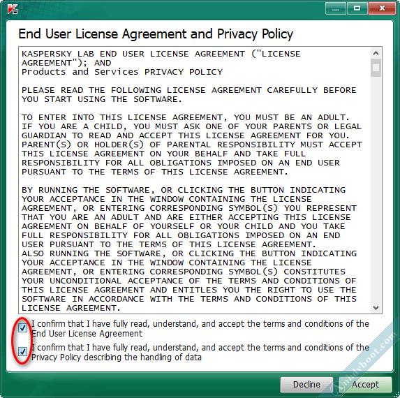quét virus trên winpe với Kaspersky Virus Removal Tool 2