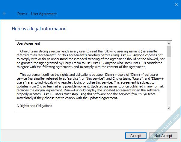 Gỡ bản cập nhật Windows với phần mềm Dism ++ trên WinPE 2