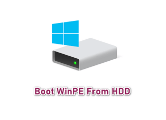 Boot WinPE từ ổ cứng với 1 click không cần USB