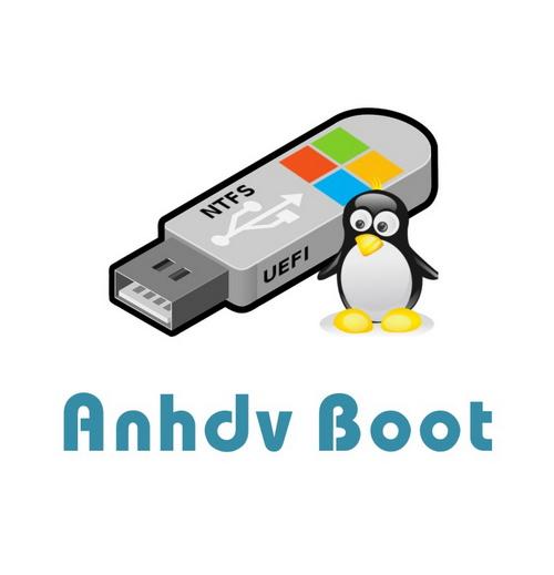 Anhdv Boot Pro - Gói file tạo boot usb nhanh