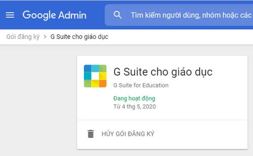 Gsuite EDU với Google Drive Unlimited 1