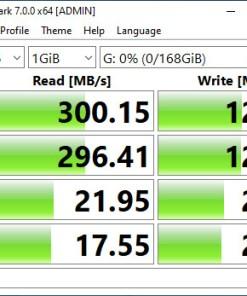 Test trên cổng USB 3.0 SSD Box Anhdv Boot 180 GB