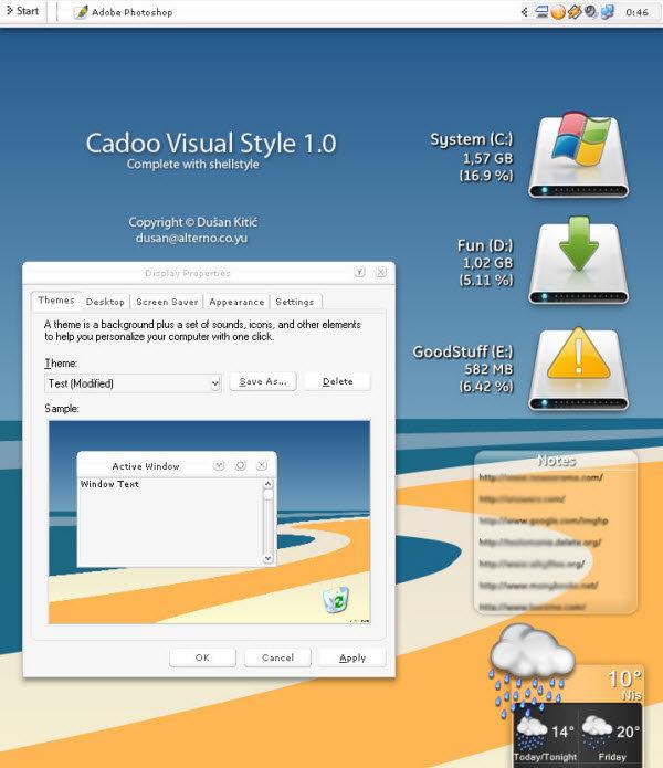 Windows XP Theme 41