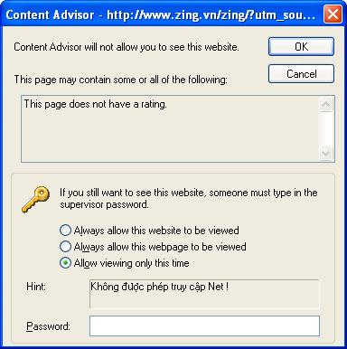 Content Advisor