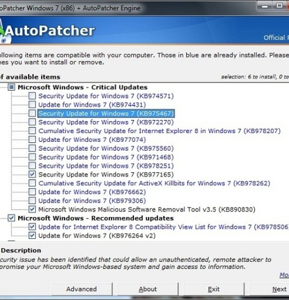 AutoPatcher Updater