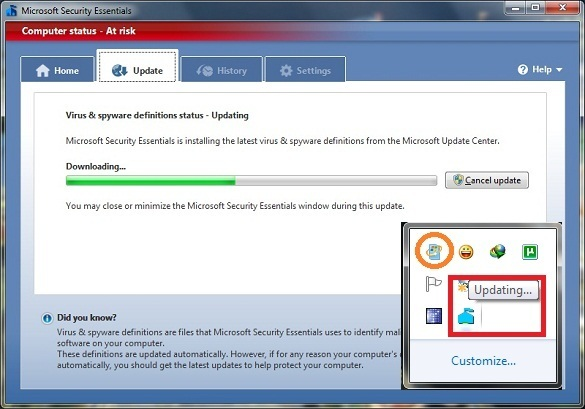 Microsoft Security Essentials beta 2