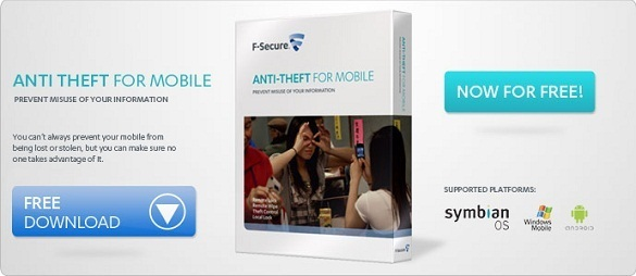 F-Secure AntiTheft for Mobile free