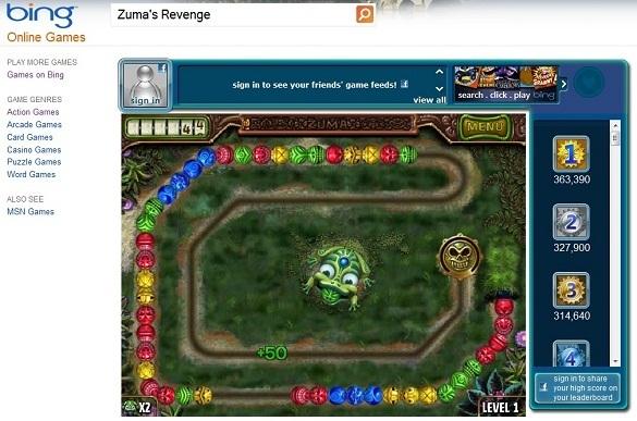 choi game tren Bing