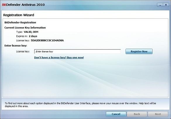 BitDefender2010Licensekey