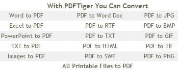 PDFTiger – Nhận key bản quyền miễn phí