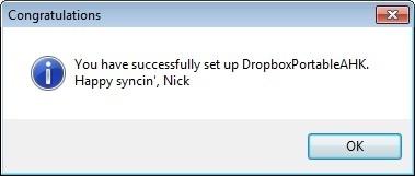 Dropbox Portable AHK