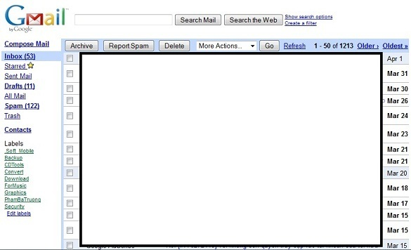 Mo Gmail nhanh hon voi Gmail Basic