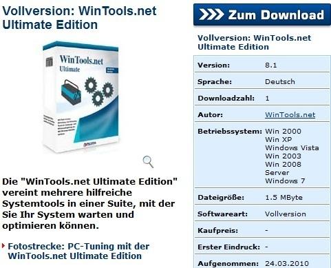 WinTools.net Ultimate