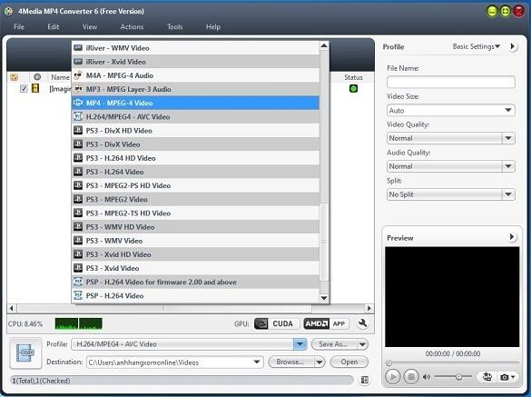 4Media MP4 Converter 6 - Nhận key bản quyền miễn phí