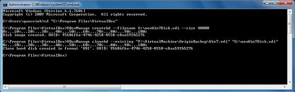 Thay đổi dung lượng đĩa ảo của VirtualBox