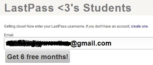 LastPass Premium - Nhận key bản quyền 6 tháng miễn phí