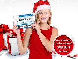 Nhận key bản quyền 5 phần mềm của Ashampoo nhân dịp Noel