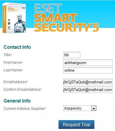 ESET Smart Security Home 5 - Nhận key bản quyền 6 tháng miễn phí