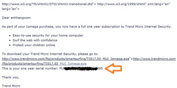 Trend Micro Internet Security - Nhận key bản quyền 1 năm miễn phí (phiên bản tiếng Anh)