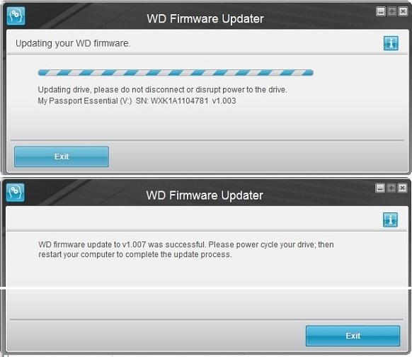 Cài đặt và cập nhật firmware cho ổ cứng di động Western Digital