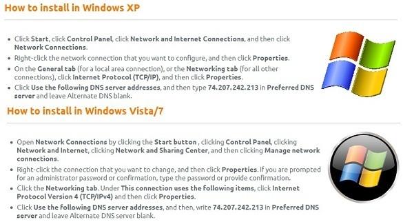 Truy cập Hulu, Pandora, Turntable, CBS...nhẹ nhàng với ProxyDNS