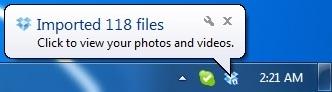 Tham gia upload hình và video để được cộng thêm 5GB dung lượng lưu trữ tại Dropbox