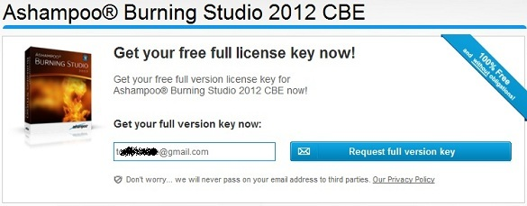 Ashampoo Burning Studio 2012 Full Version [CBE Edition] - Bản full hoàn toàn miễn phí