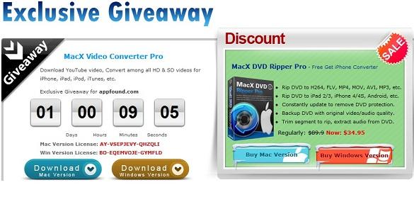 MacX Video Converter Pro - Nhận key bản quyền miễn phí