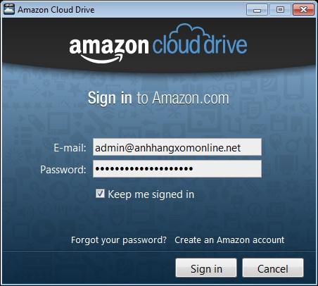Amazon Cloud Drive chính thức phát hành