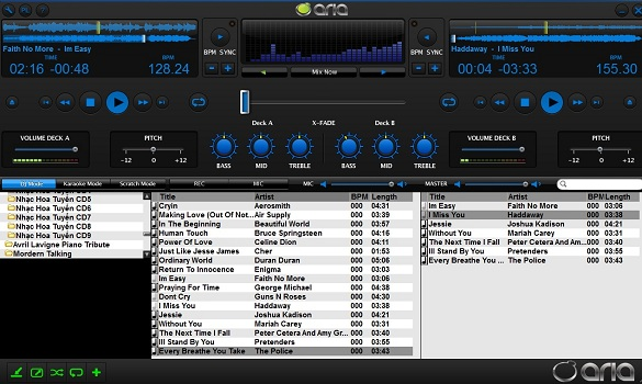 Aria DJ & Karaoke Entertainment - Nhận key bản q