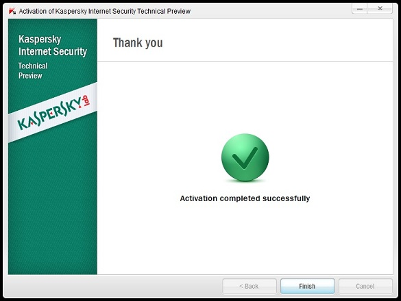 Dùng thử 3 tháng Kaspersky Internet Security 2013 Techinical Preview