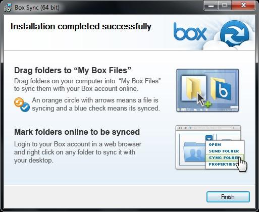 Box.com phát hành phần mềm đồng bộ BoxSync cho desktop