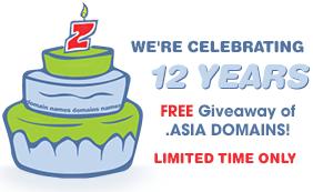 Đăng ký tên miền .asia với giá $1 từ Crazydomains.com.au