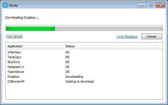 Ninite : Cài hàng loạt phần mềm chỉ với một lần nhấp chuột !