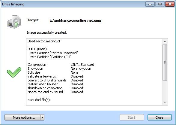 O&O DiskImage 6 Professional - Nhận key bản quyền miễn phí