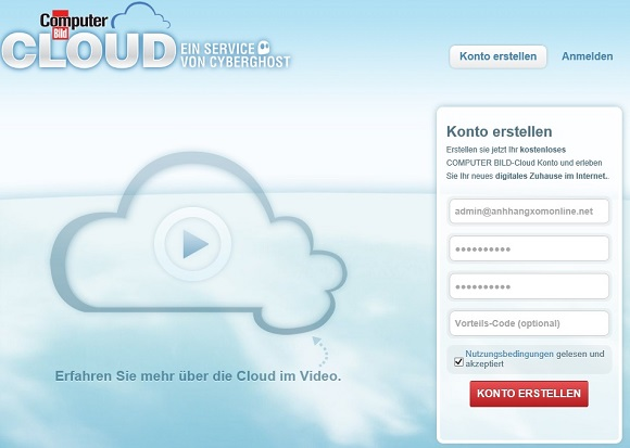 CyberGhost VPN - Miễn phí tài khoản 1 năm + tài khoản ComputerBild Cloud