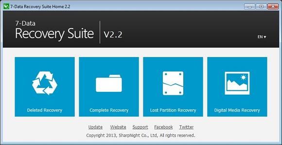 SharpKnight 7-Data Recovery Suite - Nhận key bản quyền miễn phí
