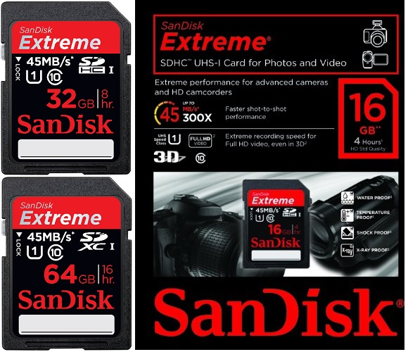 Thẻ nhớ SDHC chính hãng SanDisk