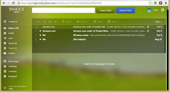 Những tính năng đáng giá trong phiên bản mới của Yahoo!Mail