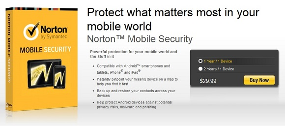 Norton Mobile Security và Norton Zone 5GB miễn phí