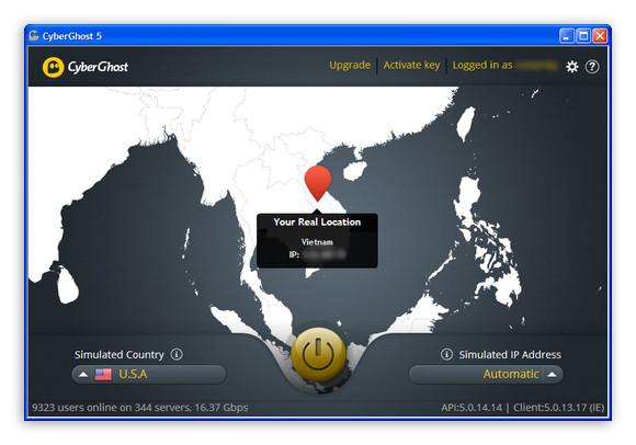 CyberGhost 5: Nhận tài khoản Premium 3 tháng miễn phí
