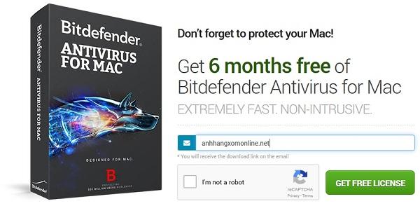 Bitdefender Antivirus for Mac - 6 tháng bản quyền và cơ hội trúng MacBook Air