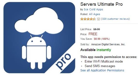 Servers Ultimate Pro - Biến điện thoại Android thành...70 loại server