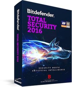 BitDefender Total Security 2016 - Get 6 months license for free !