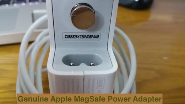 Phân biệt sạc Apple MagSafe chính hãng thật giả