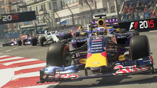 Bản quyền miễn phí game đua xe F1 2015